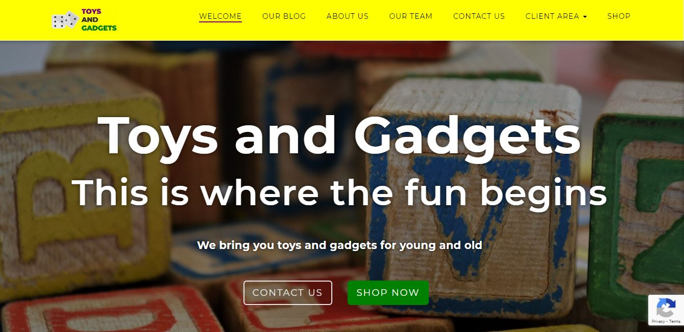 Toys and Gadgets