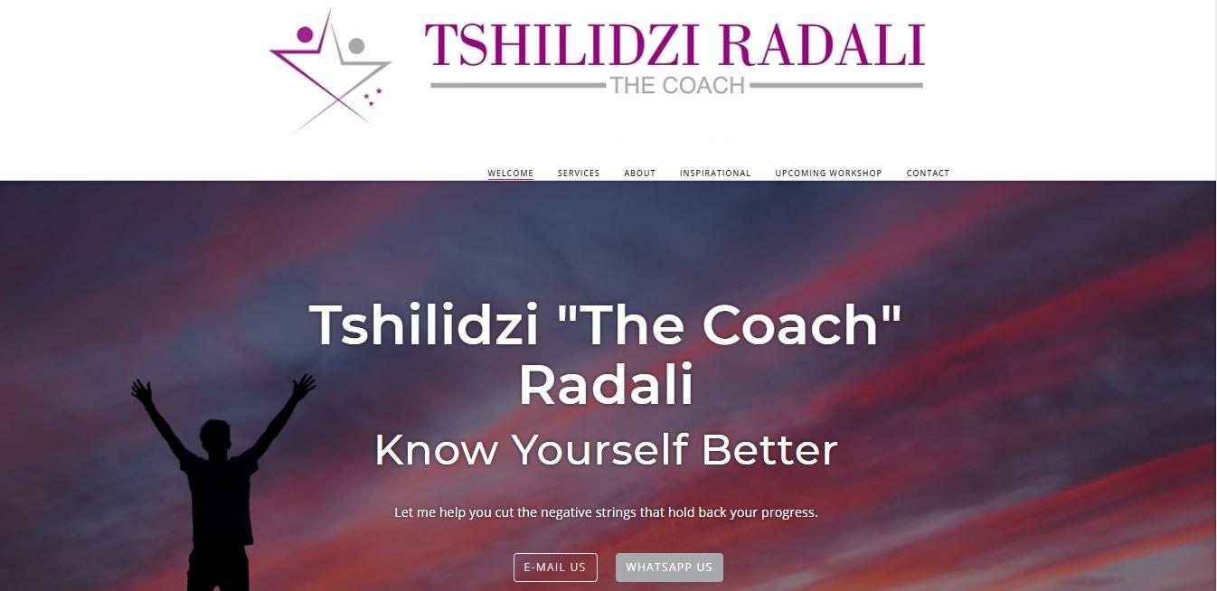 "Tshilidzi ""The Coach"" Radali"